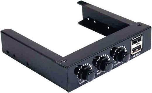 PC Lüftersteuerung 6.4 cm (3,5 Zoll) Anzahl Kanäle: 3 870101