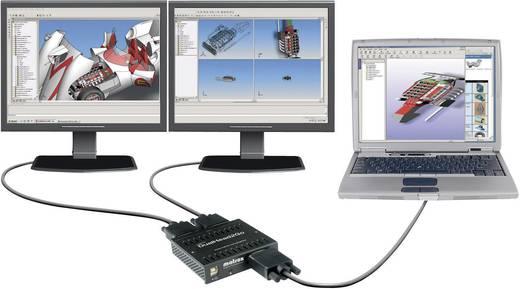 Externe Grafikkarte Matrox DualHead2GO D2G-A2A-IF Anzahl unterstützter Monitore: 2