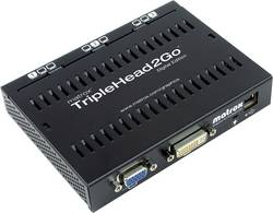 Externí grafická karta Matrox TripleHead2GO T2G-D3D-IF, 3 podporované monitory, 1920 x 1200 px
