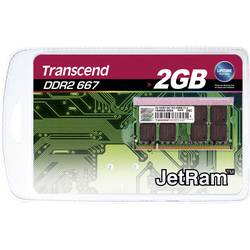 Karta Transcend 2GB SO-DIMM DDR2-RAM-667MHZ - Transcend SODIMM DDR2 2GB 667MHz CL5 JM667QSU-2G - Tra
