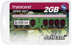 Modul RAM pro PC Transcend JetRam JM667QLU-2G 2 GB 1 x 2 GB DDR2 RAM 667 MHz CL5 5-5-15