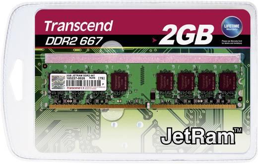 PC-Arbeitsspeicher Modul Transcend JetRam JM667QLU-2G 2 GB 1 x 2 GB DDR2-RAM 667 MHz CL5 5-5-15