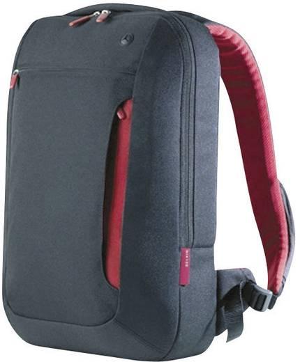 """Belkin Notebook Rucksack Slim Back Passend für maximal: 43,2 cm (17"""") Schwarz-Rot"""