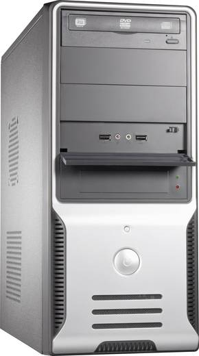 Joy-it 874463 Midi-Tower PC Intel® Celeron® G1840 4 GB 500 GB HDD ohne Betriebssystem Intel HD Graphics