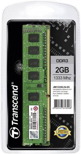 Transcend 2 GB DDR3-RAM-1333 MHz