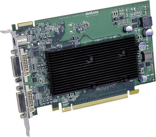 Workstation-Grafikkarte Matrox M9120 512 MB DDR2-RAM PCIe x16 DVI
