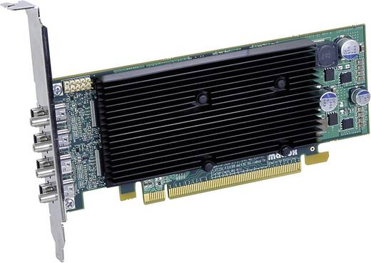 Workstation-Grafikkarte Matrox M9148 1024 MB DDR2-RAM PCIe x16 DisplayPort