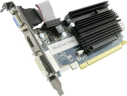 Grafikkarte Sapphire AMD Radeon HD6450 1 GB DDR3-RAM PCIe x16 DVI, VGA, HDMI™