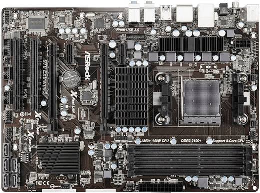 Mainboard ASRock 970 Extreme3 Sockel AMD AM3+ Formfaktor ATX Mainboard-Chipsatz AMD® 970