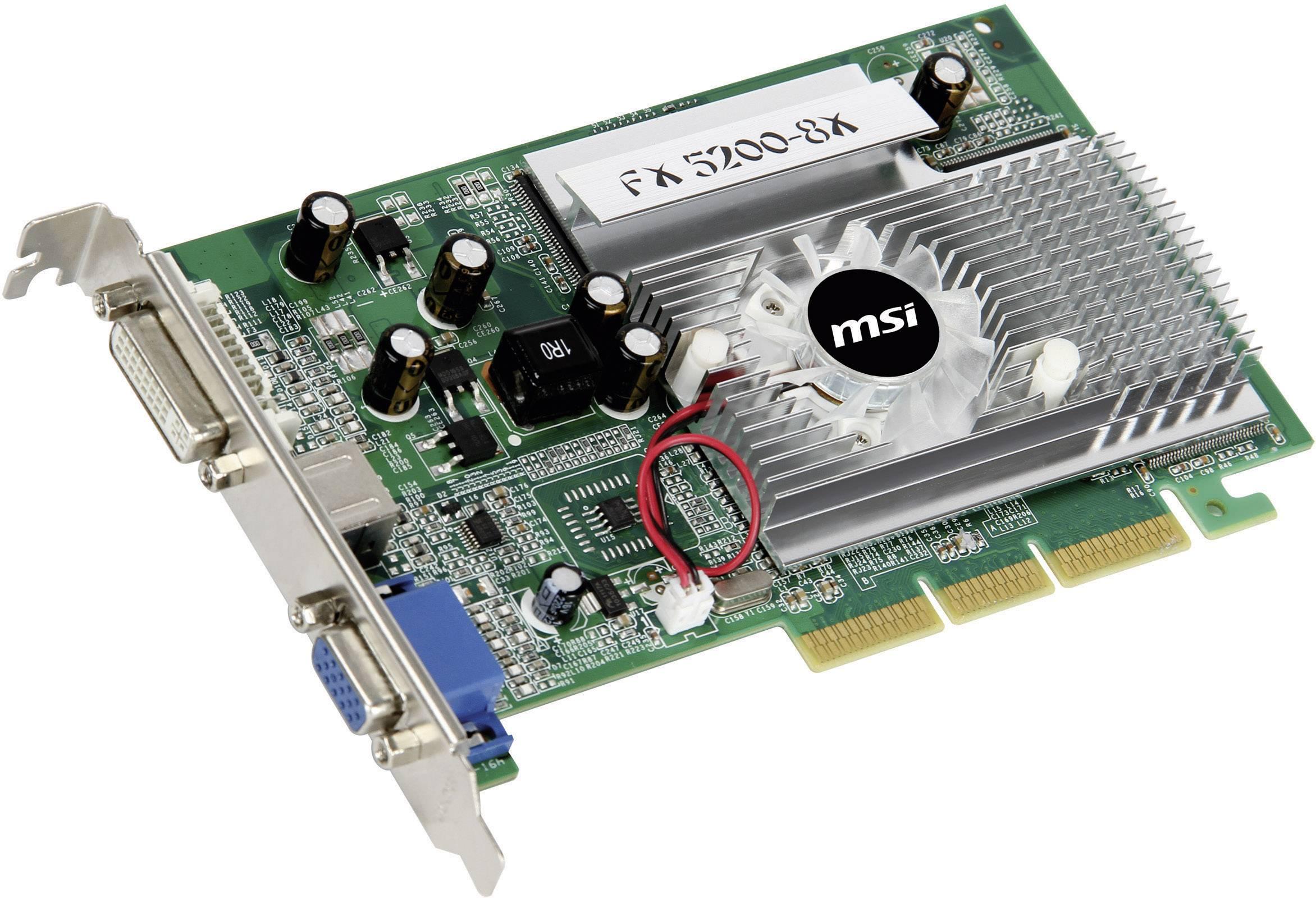 pilote carte graphique nvidia geforce fx 5200