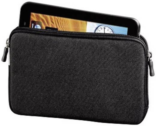 """Hama Sleeve Tablet Tasche, universal Passend für Display-Größe (Bereich): 25,7 cm (10,1"""") Schwarz"""