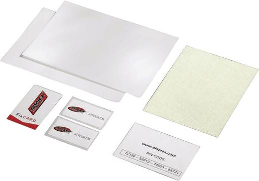 """Hama Displex Displayschutzfolie Passend für Display-Größe: 17,8 cm (7"""") Universal, 3 St."""