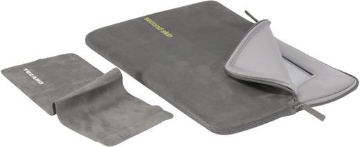 "Tucano Notebook Hülle Microfibra Script Passend für maximal: 35,6 cm (14"") Grau"