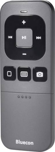 Bluetooth® Fernbedienung & Präsenter für Apple Produkte iPhone/iPad/iPad Mini/iPod Touch & Mac Schwarz