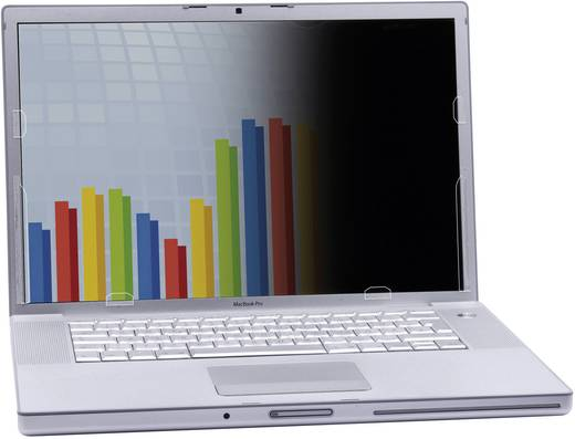 3M Blickschutz-Folie 39.6 cm (15.6 Zoll) Bildformat: 16:9 Passend für: Notebook