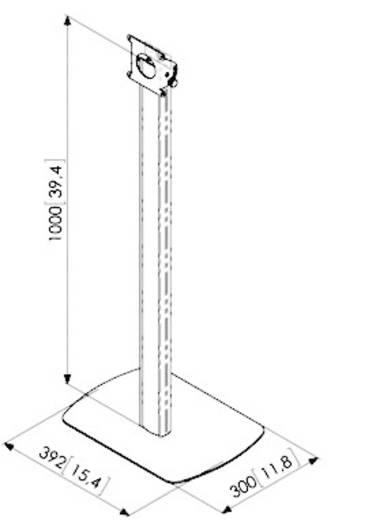 Vogels PTA 3001 Sicherer Tablet-Standfuß silber