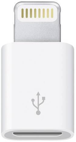 Adaptér Apple Lightning na Micro USB, bílá