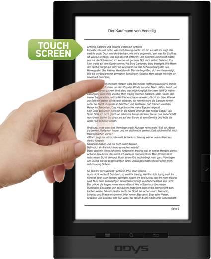 "Odys Touch eBook Reader 17,8 cm (7"") Touchscreen 4GB, Adobe DRM, microSD-Einschub inkl. 5 Bücher"