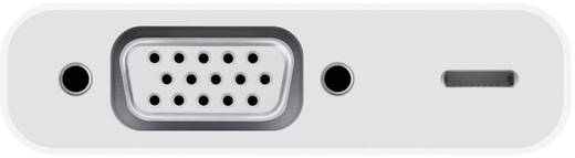 Apple Lightning auf VGA Adapter / Apple iPad/iPhone/iPod Videokabel Apple Lightning-Stecker VGA-Buchse