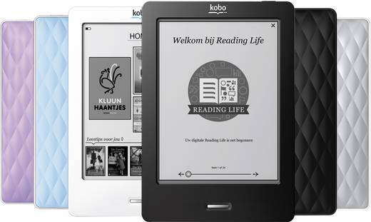 KOBO Touch eBook Reader Silber N/A 2 GB Freescale 508 Processor 11 / 54 / 300 MBit/s