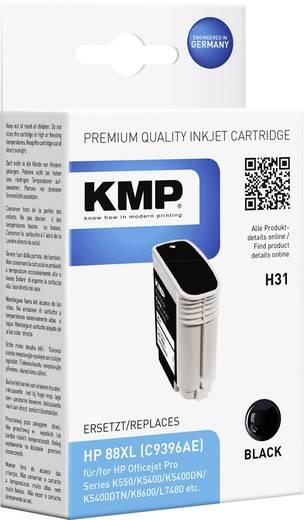 KMP Tinte ersetzt HP 88 Kompatibel Schwarz H31 1704,4961