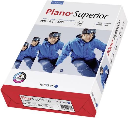 Universal Druckerpapier Papyrus Plano Superior 88026781 DIN A4 100 g/m² 500 Blatt Weiß