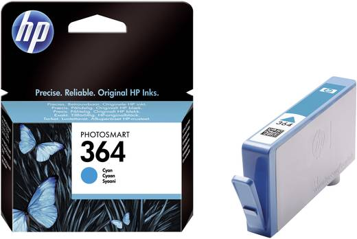 HP Tinte 364 Original Cyan CB318EE
