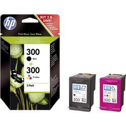 Sada náplní do tlačiarne HP 300 CN637EE, čierna, zelenomodrá, purpurová, žltá