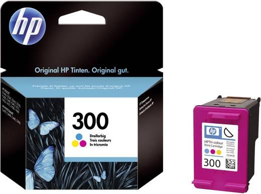 HP Tinte 300 Original Cyan, Magenta, Gelb CC643EE