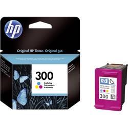 Náplň do tlačiarne HP 300 CC643EE, zelenomodrá, purpurová, žltá