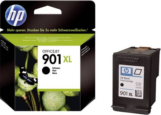 HP Tinte 901XL Original Schwarz CC654AE