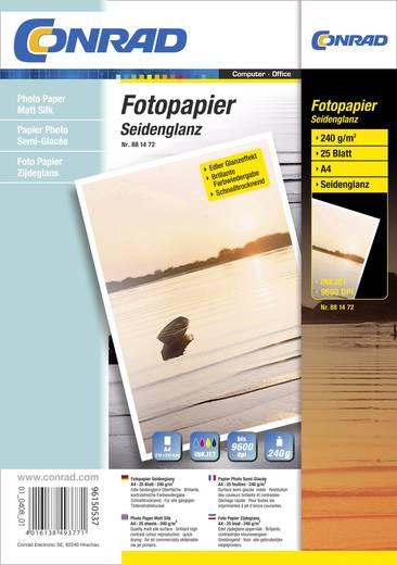 Fotopapier 881472 881472 DIN A4 240 g/m² 25 Blatt Seidenglänzend