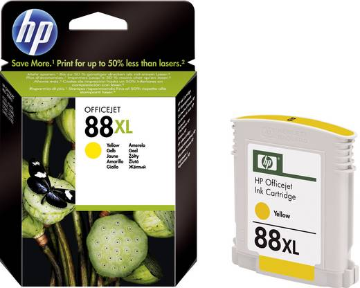 HP Tinte 88XL Original Gelb C9393AE