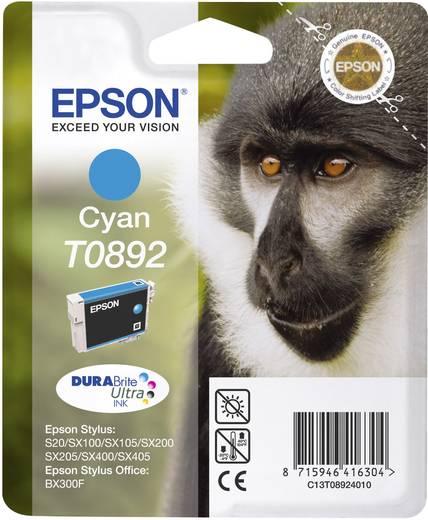 Epson Tintenpatrone T0892 Cyan C13T08924011