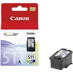 Náplň do tlačiarne Canon CL-511 2972B001, zelenomodrá, purpurová, žltá