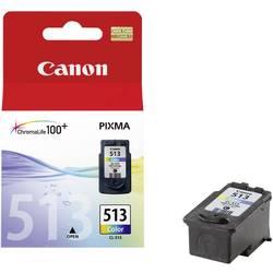 Náplň do tlačiarne Canon CL-513 2971B001, zelenomodrá, purpurová, žltá