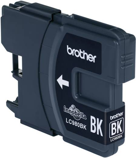 Brother Tinte LC-980BK Original Schwarz LC980BK