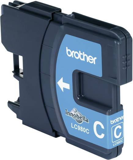 Brother Tinte LC-980C Original Cyan LC980C