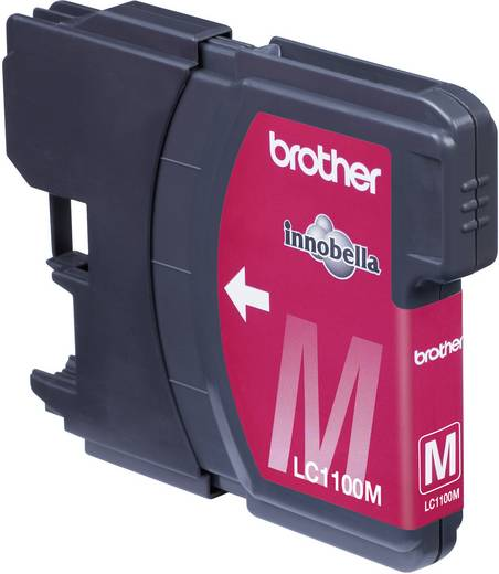 Brother Tinte LC-1100M Original Magenta LC1100M