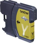 Cartouche d'encre Brother LC-1100Y jaune