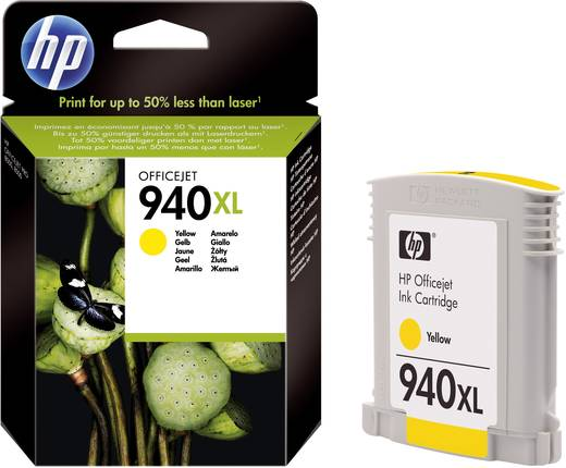 HP Tinte 940XL Original Gelb C4909AE