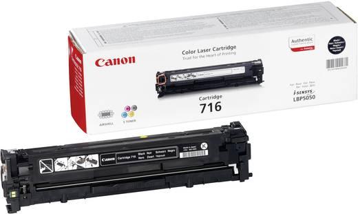 Canon Toner 716 BK 1980B002 Original Schwarz 2300 Seiten