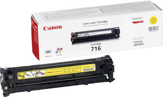 Canon Toner 716 Y 1977B002 Original Gelb 1500 Seiten