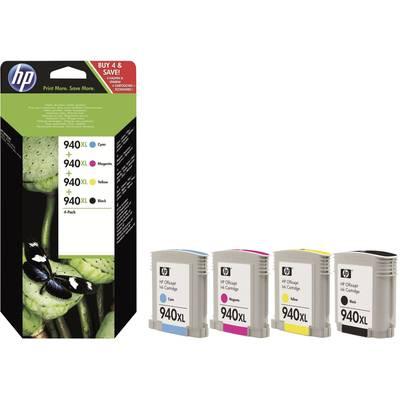 HP Tinte 940XL Original Kombi-Pack Schwarz, Cyan, Magenta, Gelb C2N93AE Preisvergleich