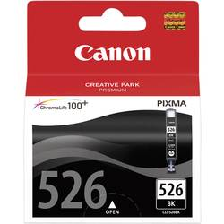 Náplň do tlačiarne Canon CLI-526BK 4540B001, foto čierna
