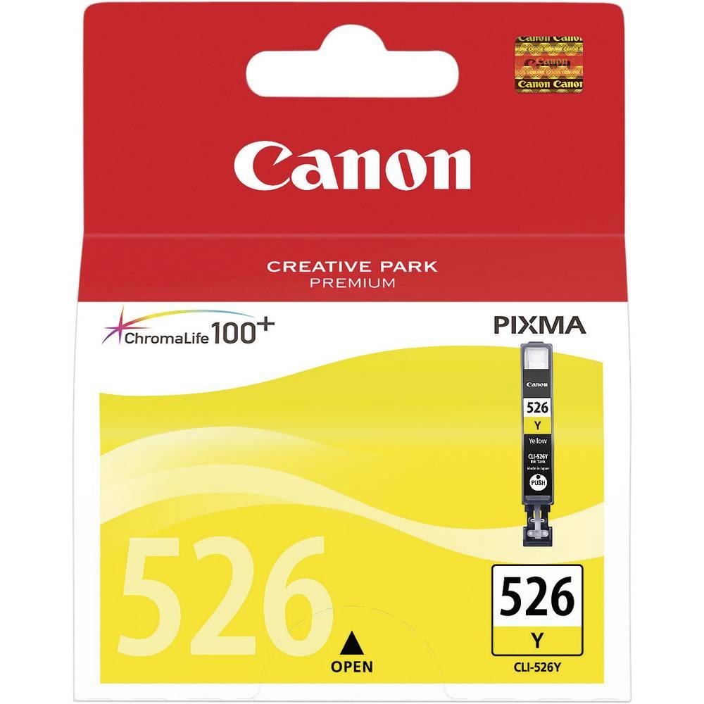 cartouche d 39 encre pour imprimante canon cli526y jaune. Black Bedroom Furniture Sets. Home Design Ideas