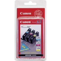 Sada náplní do tlačiarne Canon CLI-526 CMY 4541B009, zelenomodrá, purpurová, žltá