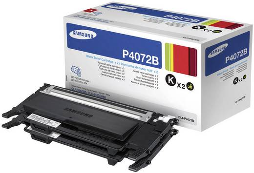 Samsung Toner 2er-Pack CLT-P4072B CLT-P4072B/ELS Original Schwarz 3000 Seiten