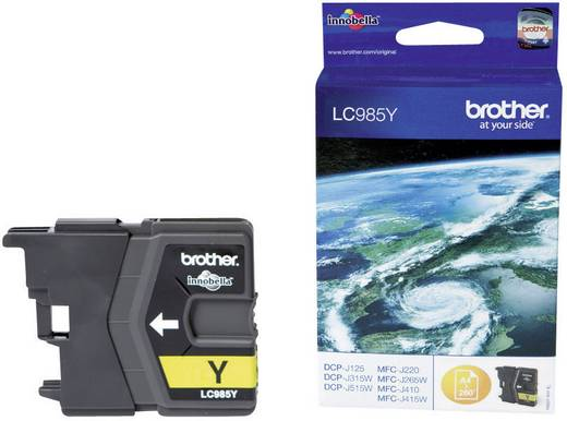 Brother Tinte LC-985Y Original Gelb LC985Y