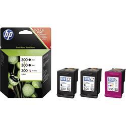 Sada náplní do tlačiarne HP 300 SD518AE, čierna, zelenomodrá, purpurová, žltá